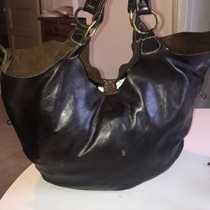 Henry Beguelin  Hobo Styled Jumbo Shoulder Bag